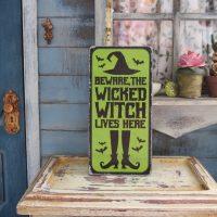 wicked witch door